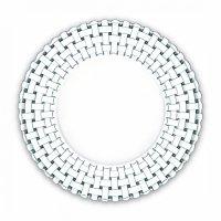 Набор из 2-ух тарелок bossa nova, диаметр: 27 см, материал: бессвинцовый х