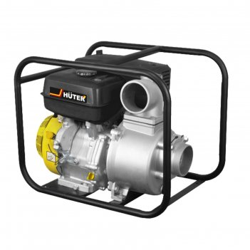 Мотопомпа бензиновая huter mp-100 70/11/5, для чистой воды, 9560 вт, 1300