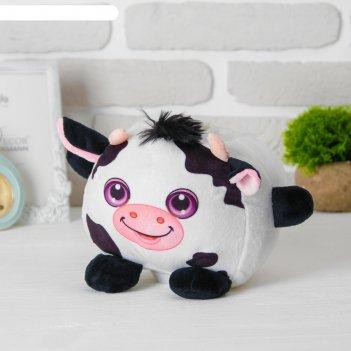 Мягкая игрушка-копилка «коровка», со звуком, с подсветкой