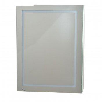 Шкаф-зеркало родос 60 правый с подсветкой (1 дверь)