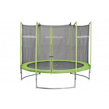 Батут hudora family trampoline 300 cm green (65631/01)