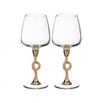 Набор бокалов для вина из 2 шт.370 мл. высота=22 с...
