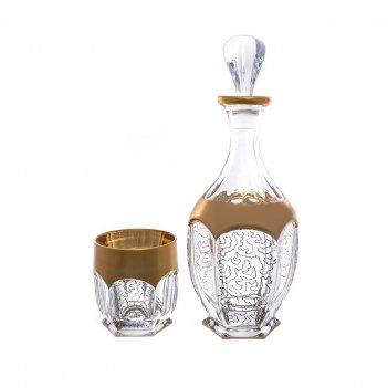 Набор для виски bohemia gold сафари 7 предметов