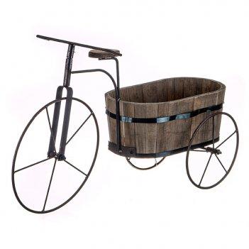 Велосипед кашпо 75*25*43 см.