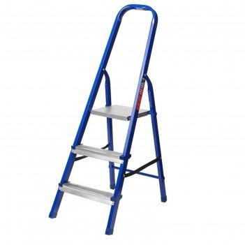 Лестница-стремянка mirax 38800-03, стальная, 60 см, 3 ступеней
