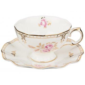 Чайный набор завтрак у королевы на 1 персону 2 пр. 200 мл (кор=36набор.)