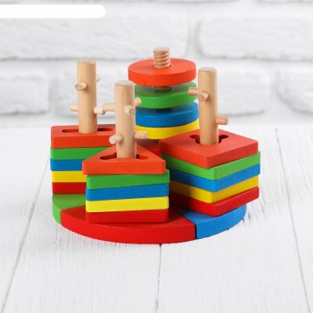 Пирамидка логическая пазл
