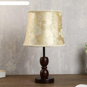 Лампа настольная е27 220в ретро 43х25х25 см