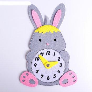 Развивающая игра часы.заяц,1601002