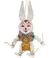 Rk-453 кукла подвесная карнавальный зайчонок
