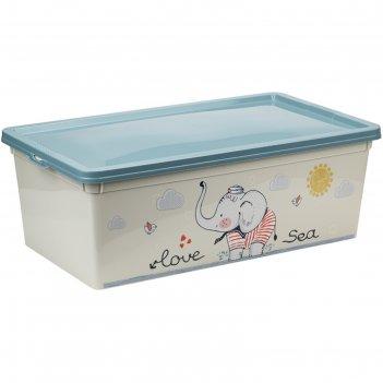 Ящик для игрушек «слоник», 5,5 л