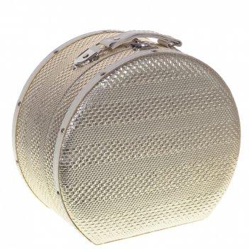 Шкатулка чемодан, l24 w21 h13 см