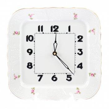 Часы квадратные bernadotte полевой цветок 26 см