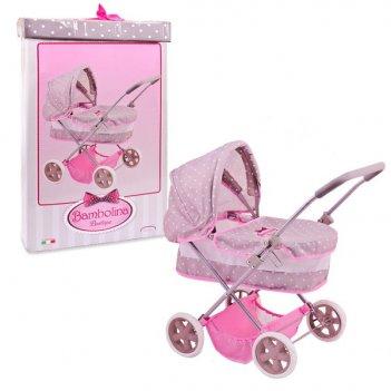 Классическая коляска для куклы, bambolina boutique