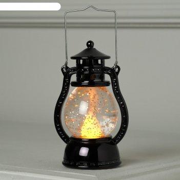 Фигура световая бронзовый фонарь, 12х7,5х5см, от батареек (в компл.), т-бе