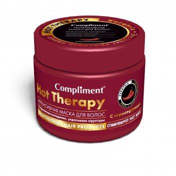 Маска для волос compliment hot therapy, интенсивная, профилактика выпадени