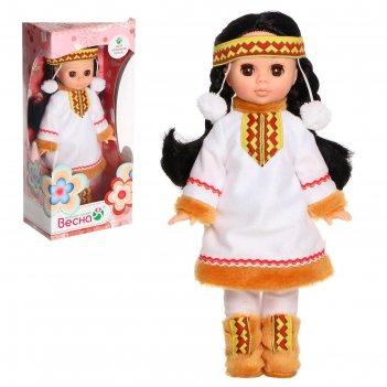 Кукла эля в костюме народов севера 30 см в3220