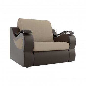Кресло-кровать «меркурий», механизм аккордеон, рогожка, цвет бежевый / кор