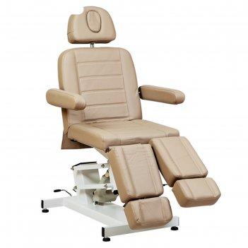 Педикюрное кресло, sd-3706, 1 мотор, цвет светло-коричневый