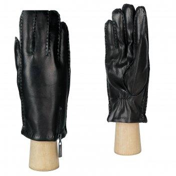 Перчатки мужские, натуральная кожа (размер 8.5) черный
