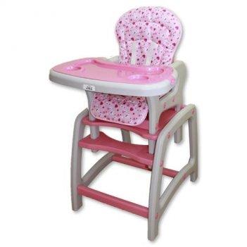 Стул для кормления multi розовый 01dc-pink