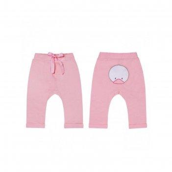 Брюки для девочки, рост 74 см, цвет розовый