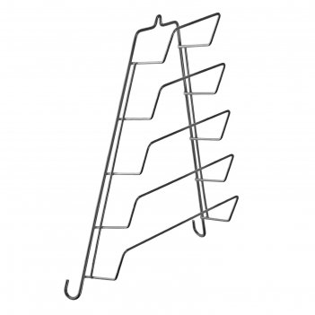 Подвеска для крышек 5 ярусов, треугольная (верх 8 см, низ 23 см, высота 35
