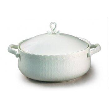 Супница с крышкой шёлк