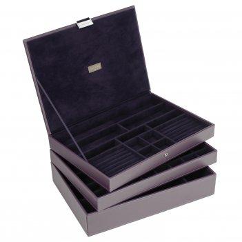 Lc designs 73129 универсальная шкатулка для хранения украшений и аксессуар