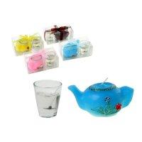 Набор свечей (1 гелевая + 1 восковая) чайная церемония, цвета микс