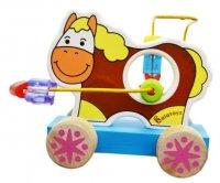 Лабиринт -каталка лошадка