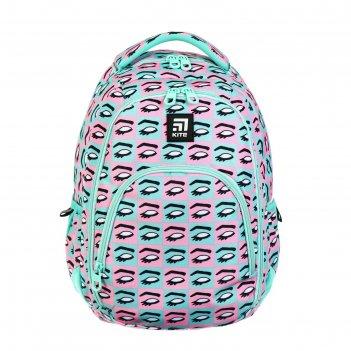 Рюкзак молодёжный эргономичная спинка, kite 905, 42 х 32 х 13, для для дев