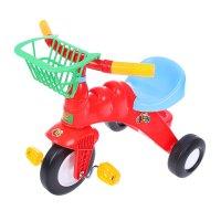 Велосипед трехколесный малыш с корзинкой микс 46192