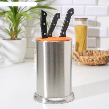 Подставка для кухонных ножей «техно», 24x17 см, цвет микс