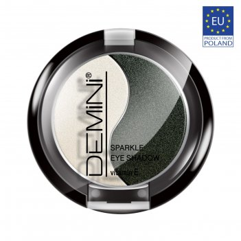 Тени для век demini sparkle eye shadow с витамином е, тон 04