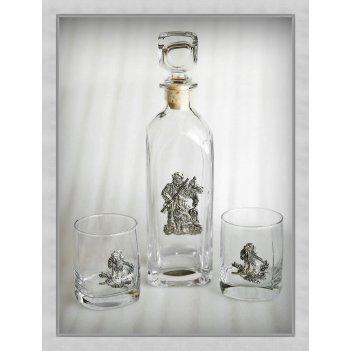 Набор  для виски 308«удачная охота»