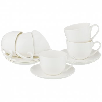Чайный набор silk на 6пер. 12пр. 330мл (кор=4наб.)