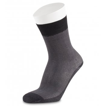 Носки мужские dark breeze asum-0010  40-42 черно-серый (artsocks)