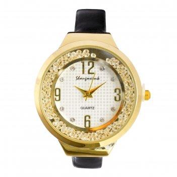 Часы наручные женские shengmeimk, ремешок из экокожи, черные