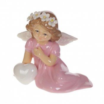 Фигурка декоративная ангелочек, l10 w6 h9 см