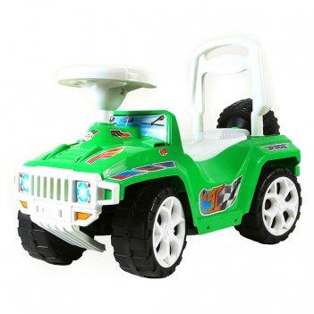 Ор419 каталка race mini formula 1 зеленая