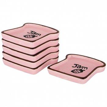 Набор подставок под чайные пакетики из 6 шт.breakfast 8,5*7*0,8 см