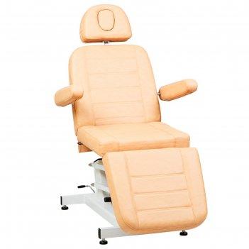 Косметологическое кресло sd-3705, 1 мотор, цвет светло-коричневый