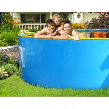 Бассейн «гарденпласт», круглый, 3,4 х 1,25 м