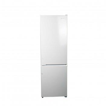 Холодильник zarget zrb 340w, двухкамерный, класс а+, 280 л, белый