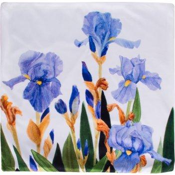 Декоративная наволочка 45*45 см, 100% п/э, ткань, печать (кор=60шт.)