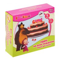 Тесто для лепки маша и медведь. торт b1091660-mm
