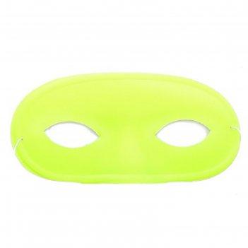 Карнавальная маска выпуклый нос, желтая, набор 6 шт
