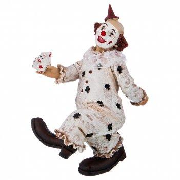 Фигурка клоун 16*8*22,5 см. коллекция буффонада (кор=12шт.)
