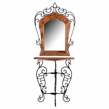 Консоль с зеркалом 67*32*150 см (кор=2шт.)